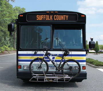 Suffolk County Transit Bus
